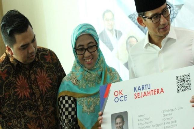 Sandiaga Uno Berharap Jakarta Lebih Sejahtera